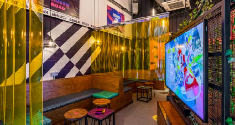 Platform | Epic London Gaming Bar | DesignMyNight