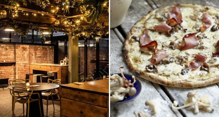 Rooftop Bar Truffle Pizza Manchester   DesignMyNight