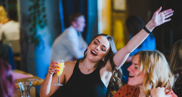 The Brunch Club themed bottomless party Leeds
