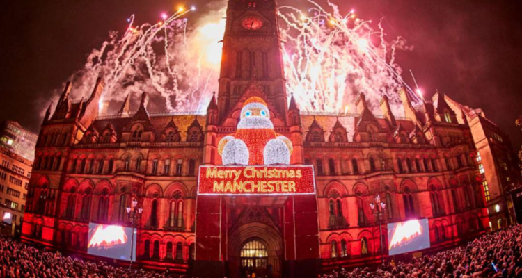 Manchester City Centre Winter Lights And Pubs Nearby | DesignMyNight