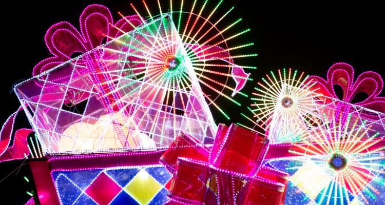 Lightopia Festival Manchester Xmas Lights | DesignMyNight