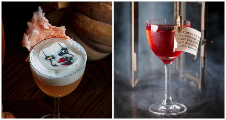Bluebird Halloween Cocktals | DesignMyNight