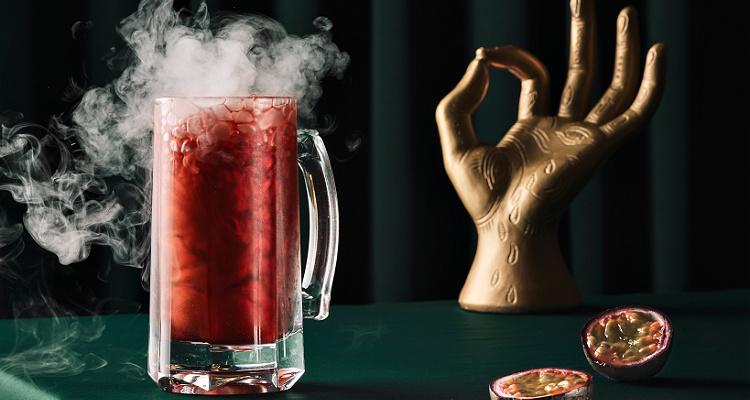 The Alchemist Red Dead Zombie Cocktail | DesignMyNight